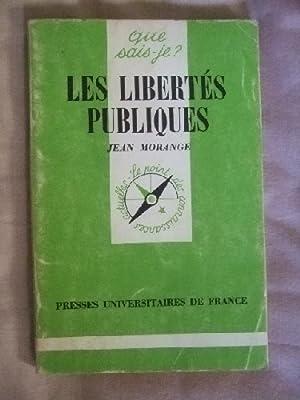 Morange Morange Libertés Publiques Jean Libertés Jean Publiques Abebooks arwrCq