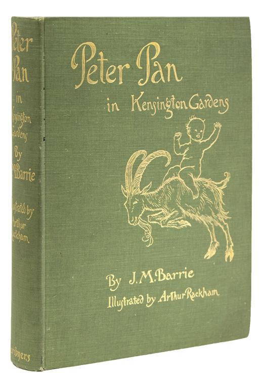 Peter Pan in Kensington Gardens by Rackham, Arthur) Barrie, James M ...