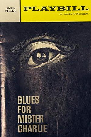 "Playbill for ""Blues For Mister Charlie"" ANTA: Baldwin, James"