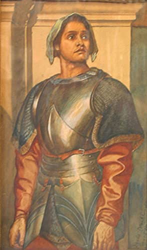 Joan of Arc after Sir Frederic Leighton ,