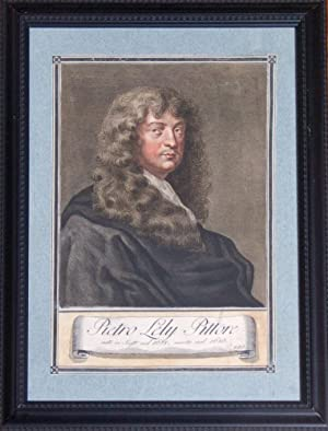 Pietro Lely Pittore: self portrait, engraved by: Lasinio, Carlo, engraver]