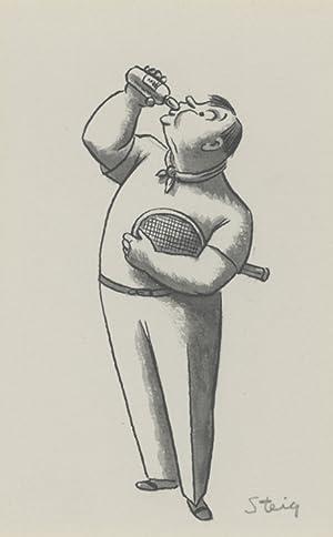 Original drawing for a New Yorker magazine cartoon: Steig, William