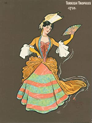 Cards for Turkish Trophies . Complete set of 25 costumes dated 1700-1903