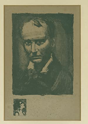 Portrait of Charles Baudelaire: Baudelaire, Charles) Rouault,