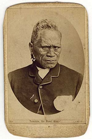 Carte de visite portrait of Tawhiao, 2nd: New Zealand)