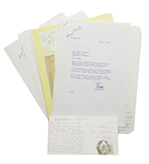 Archive of letters, postcards, photographs, and notes from Crosby to songwriter Jimmy Van Heusen