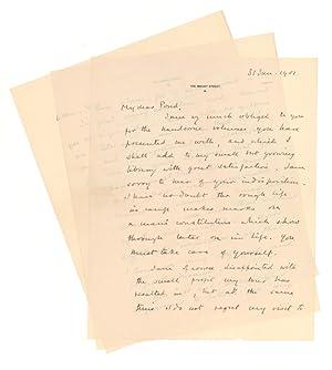 "Autograph Letter, signed (""Winston S. Churchill""), to: Churchill, Winston S."