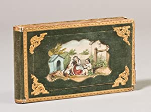 Collection of Autograph Sentiments in German, including Love Poems with drawings, preserved in a ...