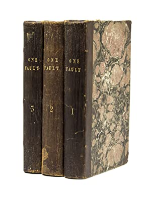 One Fault. A Novel: Trollope, Frances