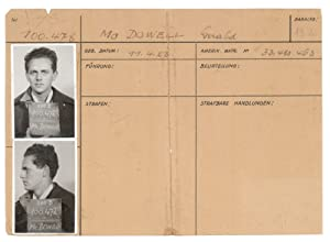 Identity documents and ephemera of Sgt. Gerald McDowell, U.S.A.F. as prisoner of war in Stammlage...
