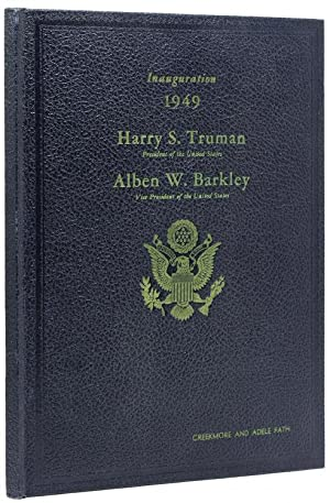 Official Program Inaugural Ceremonies of John F.Kennedy.and: Kennedy, John F)