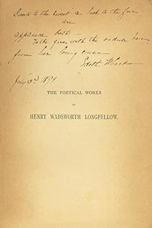 The Poetical Works: Wharton, Edith) Longfellow,
