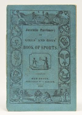 Juvenile Pastimes; or Girls' and Boys' Book: Baseball)