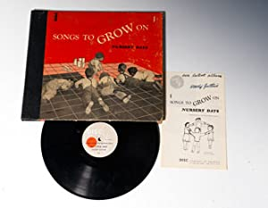 78 rpm album]: Songs To Grow On: Nursery Days [With original booklet inscribed:] Songs To Grow On: ...