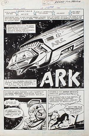 "Mystery in Space Issue 115 Splash Page ""Ark"": Comic Art) Tuska, George"