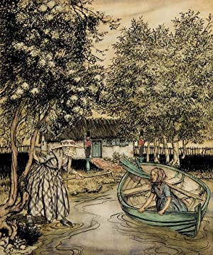 "The Snow Queen (""The old woman went: Rackham, Arthur"