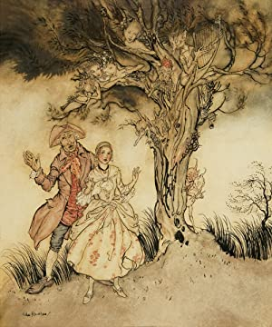 Katrina van Tassel and Brom Bones: Rackham, Arthur