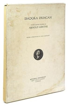 Isadora Duncan. Twenty-Four Studies. Foreword by Max: Genthe, Arnold
