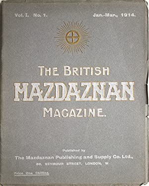 The British Mazdaznan Magazine. Vol I No. I. Jan.-Mar., 1914