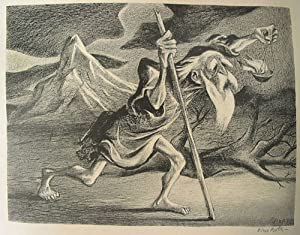 "Lithograph: ""Diogenes"": Gropper, William (American, 1897-1977)"