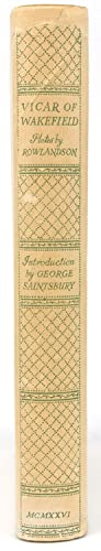 The Vicar of Wakefield. Introduction by George Saintsbury