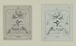 Bookplate of Clifford Smith. Signed in plate: Ripley, Aiden Lassell