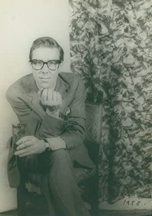 Portrait photograph of Antony Armstrong-Jones, Lord Snowdon