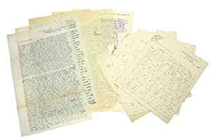 20 Letters reporting events at Ladysmith, the: Boer War) Carter,