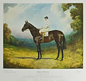 Thoroughbred Portraits: Album of 9 Equestrian Portraits: Woodward, William) Stainforth,