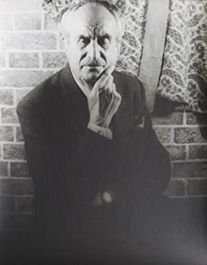 Portrait Photograph of Adolfo Best Maugard: Best-Maugard, Adolfo) Van