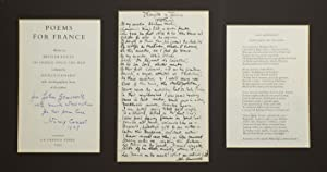 "Autograph manuscript of John Gawsworth's ""Thoughts in: Cunard, Nancy, and"