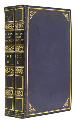 The Library Companion; or, The Young Man's: Dibdin, Thomas Frognall