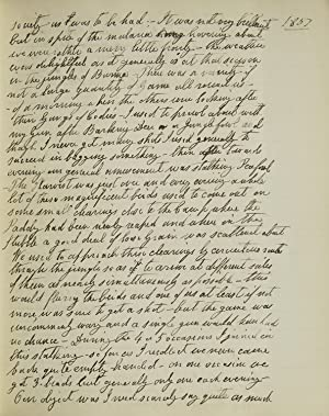Manuscript account of service to the Burma: Burma) [Duff, Col.
