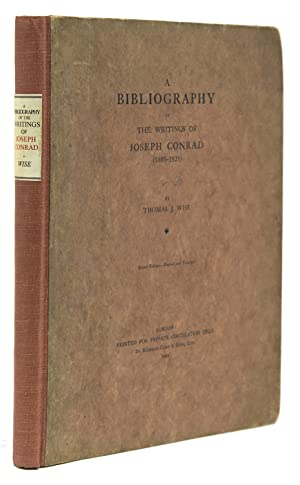 A Bibliography of the Writings of Joseph Conrad