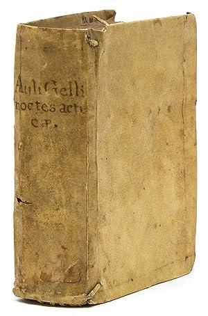 Auli Gellii, Luculentissimi Scriptoris, Noctes Atticae: Gellius, Aulus
