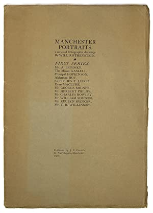 Manchester Portraits. Twelve Lithographed Drawings