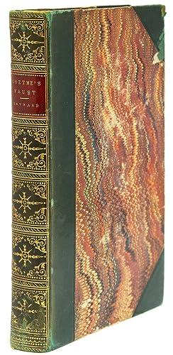 Faust: A Dramatic Poem. Translated into English-prose,: Goethe, Johann Wolfgang
