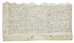 Manuscript indenture of John and Thomas Dixon to Miss Young