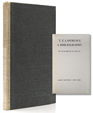 T. E. Lawrence. A Bibliography