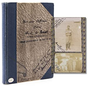 Across Africa West to East, from Benguella to Brina [Manuscript Cover title] PHOTOGRAPH ALBUM