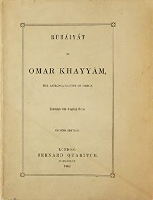 Rubáiyát of Omar Khayyam, the Astronomer-Poet of: Khayyam, Omar