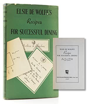 Elsie de Wolfe's Recipe for Successful Dining