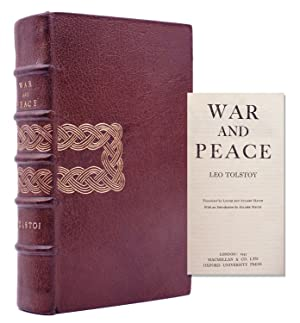 War and Peace. Trnslated by Louise and Aylmer Maude. With an Introductionm by Aylmer Maude