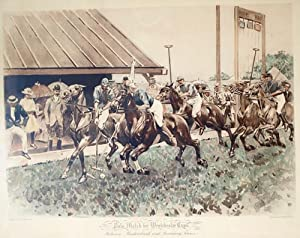 Polo Match for Westchester Cups, Between Meadowbrook: Polo) Allen, W.S.