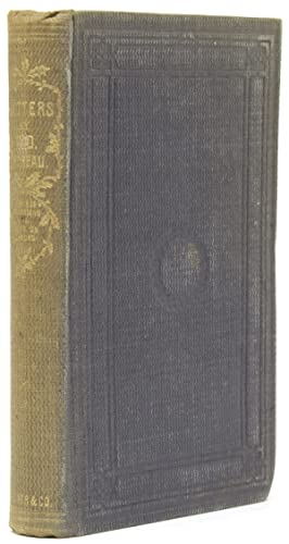 Letters to Various Persons: Thoreau, Henry David