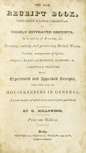 The New Receipt Book containing a Large: Brewing and Cookery)