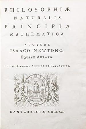Philosophiae naturalis Principia mathematica. Auctore Isaaco Newtonio: Newton, Isaac