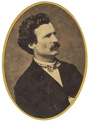 Photographic portrait of Samuel L. Clemens, ca.: Clemens, Samuel L)