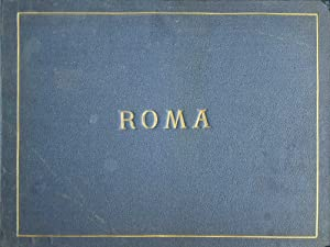 Album of 73 mounted photographs of Rome, 1886
