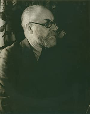 Portrait photograph of Henri Matisse: Matisse, Henri) Van
